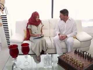 arabe, massage, indien