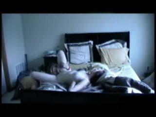 Horký amatér trojice žena žena muž na hotelu video