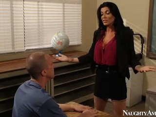 Malaki titted instructor romi ulan having pakikipagtalik onto sekswal america