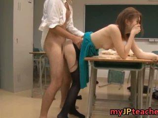 Ai haneda sexy japans leraar has seks
