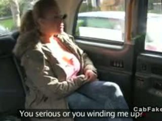 Bbw With Huge Tits Banged In Fake Taxi In Public