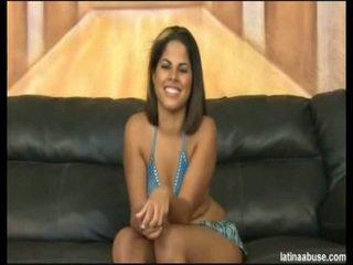 """Elana est la épicé faced 19 année mature cubain, definitely lacking en une titty département, mais overall worth la bangin. she went nice in """"cock shock"""" 10 seconds after being onto her knees. its lik"""