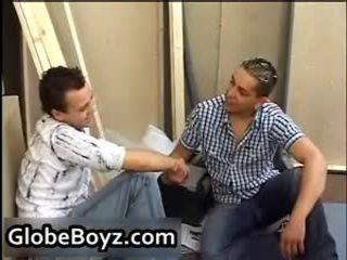 Nóng nubiles homosexual không yên vì các đầu tiên thời gian 1 qua globeboyz