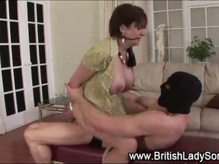 velká prsa, britský kvalita, vy výstřik vidět