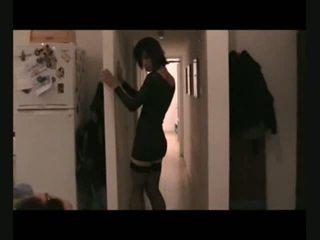 crossdresser, modèle, travesti