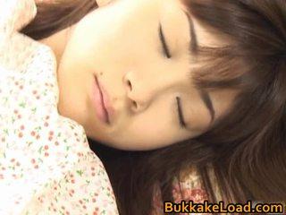 Asuka ohzora hawt азиатки модел acquires секс cream