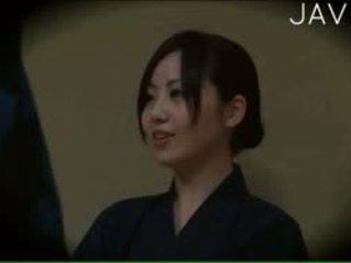 japānas, voyeur, masāža