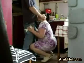 Thick amatööri arab tipu gets perseestä