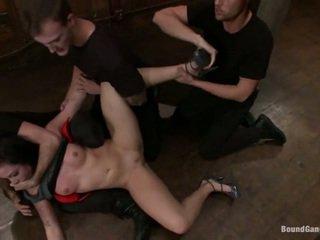 Aria Aspen Has Her Ass Used Inside Gangbang Performance