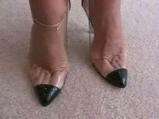 高跟鞋, 戀足, 腳功封口