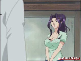 Mama japonez hentai gets squeezed ei bigboobs