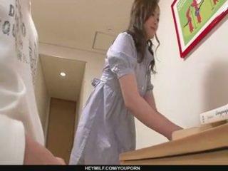 Skilled miyama ranko membuat dia air mani tanpa penetration
