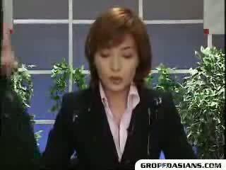 Guys corrida en noticias anchor