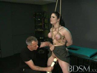 Bdsm: master beli dominates vroče najstnice