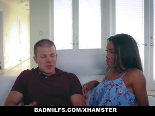 Badmilfs - Ebony MILF Fucks Son in Law, Porn 49
