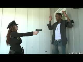 Police Women Likes It Black!