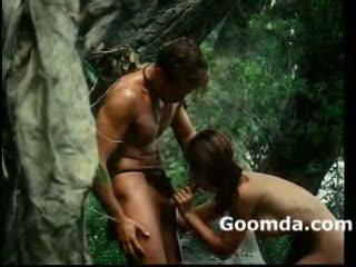 Tarzan and cayne discovering how to fuck 1