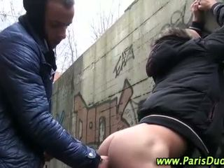 Euro amateur gays outdoor cock suck