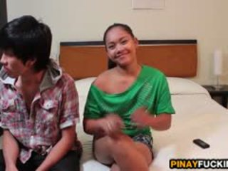 Filipina ahateur sophia blows and gets pumped