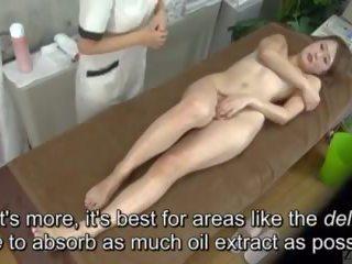 Subtitled enf cfnf hapon lesbiyan clitoris masahe clinic