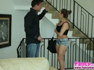 Tiny Brunette Cassidy Klein Gets Her Pussy Fucked By Marco