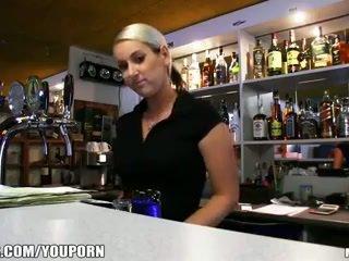 Incredibly Καυτά τσέχικο ξανθός/ιά είναι paid να λαμβάνουν ένα σεξ διακοπή στο εργασία