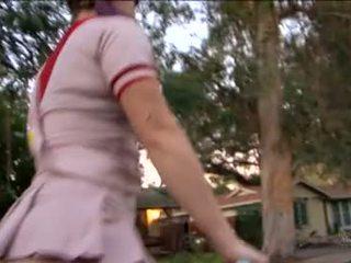 Sierra sanders meitene scout scary bike rides