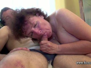 Mama prigautas vokiškas berniukas ir gauti pakliuvom į visi holes