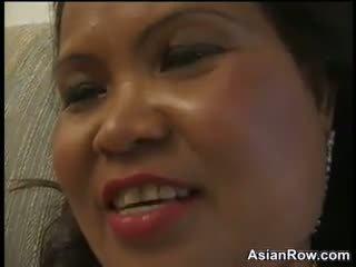 Thick ja küpsemad aasia wants a mustanahaline riist