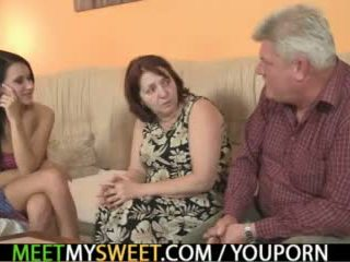 mature, threesome teen, threesome mom
