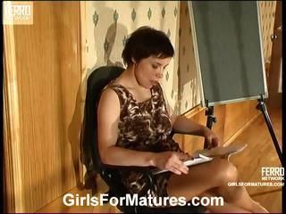 Ethel en nellie vivid lesbo rijpere actie