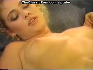 Dana lynn, nina hartley, ray victory in vintage porno clip