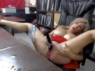 MILF Squirts in Office, Free In Xxx Porn Video 26