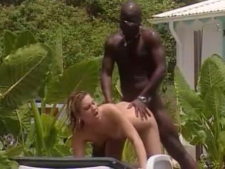 White wife fucks with french black in ...