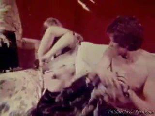 retro porno, seks w stylu vintage, sex retro basen