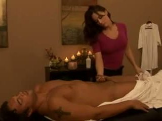 gros seins, matures, massage