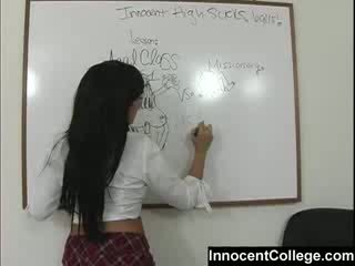 性感 lezbo 学校 女孩 教 每 其他 一 lesson