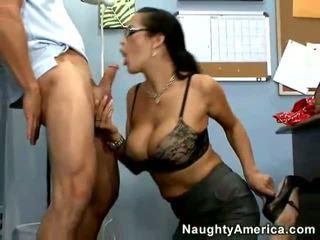 hottest glasses check, quality big tits, secretaries