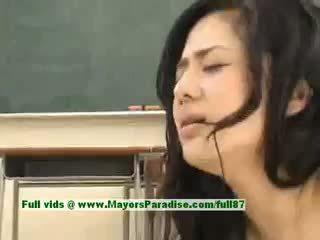 Sora aoi সেক্সি জাপানী ছাত্রী gets একটি কঠিন চোদা মধ্যে ঐ