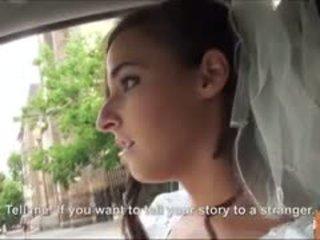 Quente noiva fucks depois failed casamento