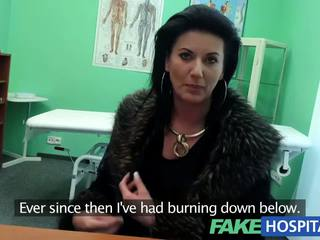 Fakehospital intelligent mature sexy milf has une sexe confession