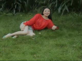 かわいい 中国の 裸 上の カム ビデオ