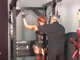 Slaaf opleiding voor de vrouw en girlfriends: gratis porno 39