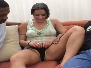 Arianna i 2 enormt gigantisk cocks rumpa fan och abus