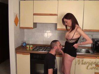 Mariana cordoba quente em o cozinha