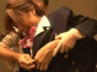 Air hostess groped by passenger