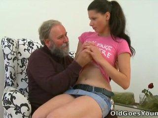 μελαχροινή, έφηβος σεξ, νέος